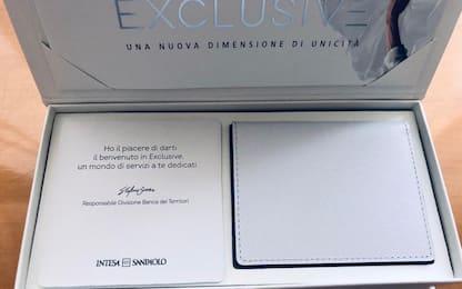 Intesa Sanpaolo, arriva la nuova carta di credito Exclusive