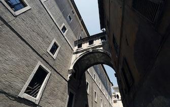 Uno scorcio del Collegio Romano, sede del ministero dei Beni culturali, a Roma