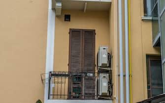 Inaugurazione condominio che ha beneficato dell'ecobonus in Viale Murillo 10 (Milano - 2019-10-15, Carlo Cozzoli) p.s. la foto e' utilizzabile nel rispetto del contesto in cui e' stata scattata, e senza intento diffamatorio del decoro delle persone rappresentate