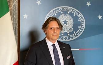 Giuseppe Spadafora, vicepresidente Unimpresa, a Palazzo Chigi