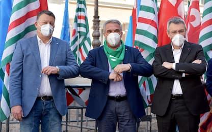 Sindacati, il 26 giugno tre manifestazioni unitarie Cgil, Cisl e Uil