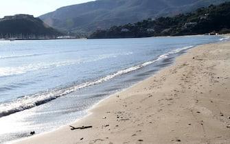 La spiaggia della Feniglia vicino Porto Ercole