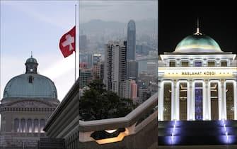 Berna, Hong Kong e Ashgabat