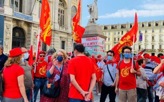 Manifestazioni lavoro Cgil, Cisl, Uil