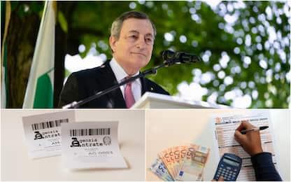 Draghi e il taglio delle tasse: quali saranno ridotte o cancellate