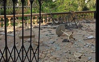 palazzo Sursock di Beirut distrutto dalla esplosione