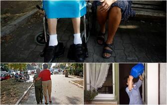 colf e badanti al lavoro con anziani