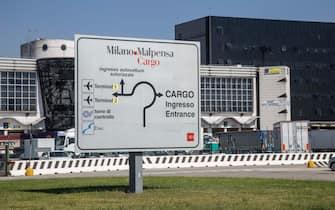 CARGO CITY dell'Aeroporto di Malpensa. (Malpensa - 2021-05-31, Davide Canella) p.s. la foto e' utilizzabile nel rispetto del contesto in cui e' stata scattata, e senza intento diffamatorio del decoro delle persone rappresentate