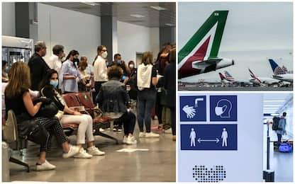 Enac, -72,5% di passeggeri per il Covid: le perdite degli aeroporti