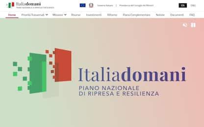 Recovery, governo pubblica sito sul piano italiano. Trasparenza a metà