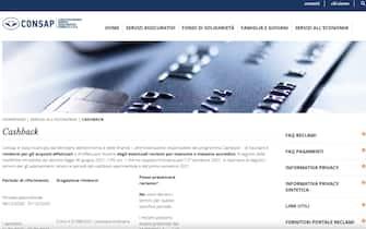 portale per richiedere rimborso cashback