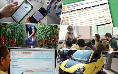 Green pass, affitti e contributi Inps: le date da segnare a settembre
