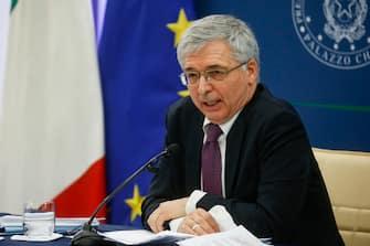 Il ministro dellÂ?economia, Daniele Franco, Roma, 20 maggio 2021. ANSA/FABIO FRUSTACI
