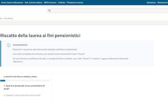 Pagina web dell'inps per simulare il riscatto della laurea