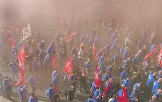 Manifestazione Gkn Firenze
