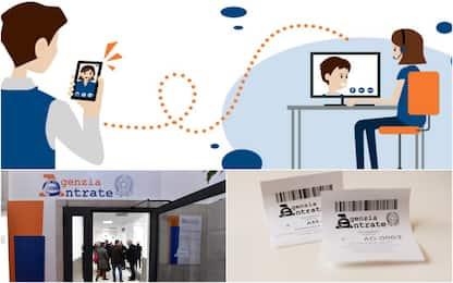 Fisco, arriva lo sportello on-line per assistenza in videocall