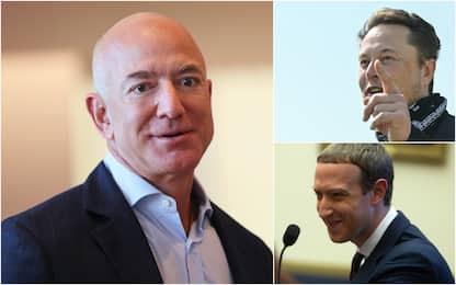Forbes 400, ecco gli uomini più ricchi degli Usa: Bezos al primo posto