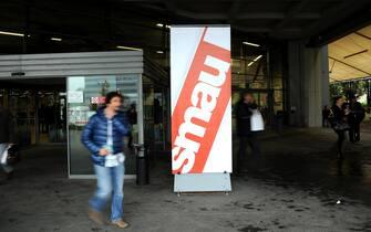 Fiera dello Smau in Fiera Milano City. Milano, mercoledì 23 ottobre 2013.  ANSA/DANIELE MASCOLO
