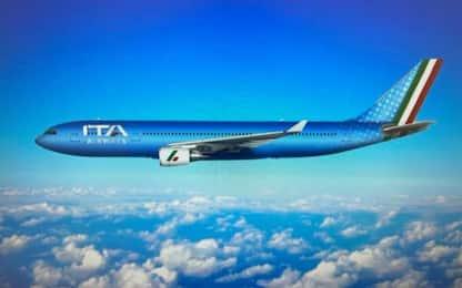 Ita Airways, i nuovi aerei: livrea azzurra e tricolore. LE FOTO