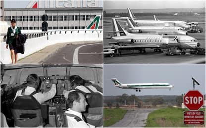 Alitalia, cadute e rinascite: la storia dal primo all'ultimo volo