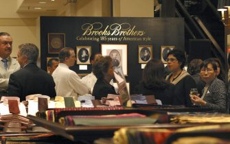 Brooks Brothers Anniversary Reception Atmosphere