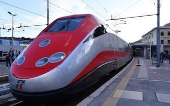 foto: Alfredo Falcone / LaPresse Frosinone, 14 06 2020 Stazione di Cassino Ferrovie dello Stato Inaugurazione Alta Velocità Frosinone Cassino nella foto: Un momento della cerimonia