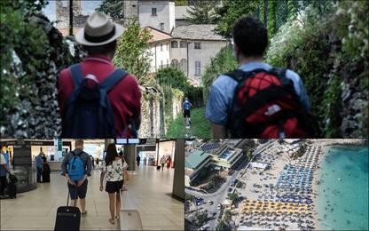 Italiani in vacanza: spese ridotte e mete di relax. FOTO