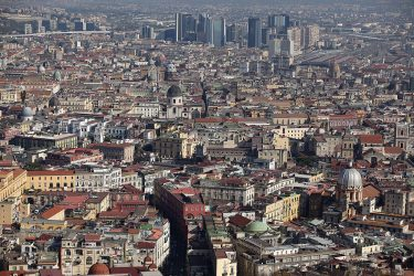 NAPLES, ITALY - NOVEMBER 18:  A general view of the densely populated city of Naples on November 18, 2011 in Naples, Italy. Italy's new Prime Minister Mario Monti and his new cabinet are having their second vote of confidence to bring in new austerity measures to reduce Italy's dept. Monti has also announced that he is due to meet Germany's Chancellor Angela Merkel and French President Nicholas Sarkozy in the forthoming week to discuss the euro crisis.  (Photo by Christopher Furlong/Getty Images)