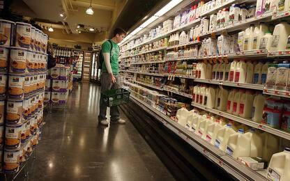 Inflazione: Istat, +0,1% a giugno su mese, -0,2% su anno