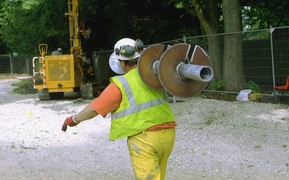 Inail: con lockdown -21,8% incidenti sul lavoro
