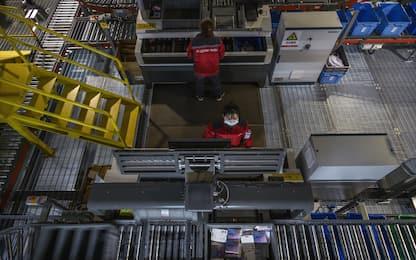 Ue: produzione industriale eurozona -0,4% in settembre