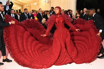 Cardi B attends The 2019 Met Gala Celebrating Camp: Notes on Fashion at Metropolitan Museum of Art on May 06, 2019 in New York City. (Photo by Dimitrios Kambouris/Getty Images for The Met Museum/Vogue)