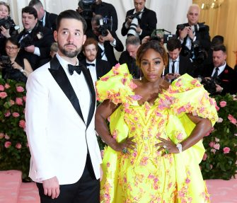 NEW YORK, NEW YORK - MAY 06: Alexis Ohanian and Serena Williams arrive for the 2019 Met Gala celebrating Camp: Notes on Fashion at The Metropolitan Museum of Art on May 06, 2019 in New York City. (Photo by Karwai Tang/Getty Images)