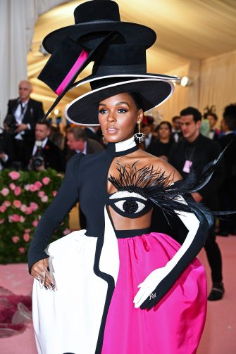 NEW YORK, NEW YORK - MAY 06: Janelle Monae attends The 2019 Met Gala Celebrating Camp: Notes on Fashion at Metropolitan Museum of Art on May 06, 2019 in New York City. (Photo by Dimitrios Kambouris/Getty Images for The Met Museum/Vogue)