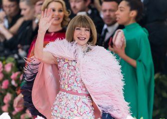 NEW YORK, NY - MAY 06:  Editor-in-chief of Vogue Anna Wintour is seen arriving to the 2019 Met Gala Celebrating Camp: Notes on Fashion at The Metropolitan Museum of Art on May 6, 2019 in New York City.  (Photo by Gilbert Carrasquillo/GC Images)