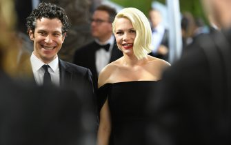 LOS ANGELES, CALIFORNIA - JANUARY 19: Thomas Kail and Michelle Williams attend the 26th Annual Screen ActorsGuild Awards at The Shrine Auditorium on January 19, 2020 in Los Angeles, California. 721384 (Photo by Mike Coppola/Getty Images for Turner)