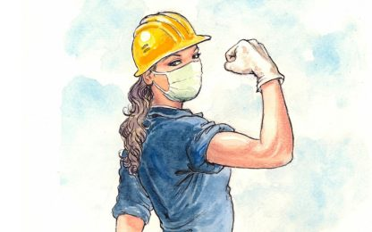 Coronavirus, Milo Manara disegna le eroine dell'emergenza. FOTO