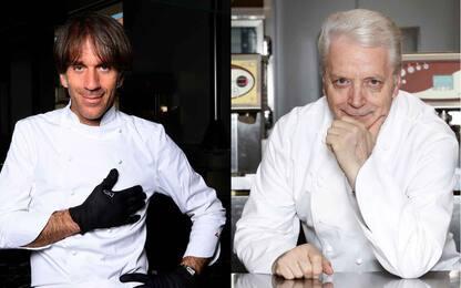 Crisi della ristorazione, i messaggi di Davide Oldani e Iginio Massari
