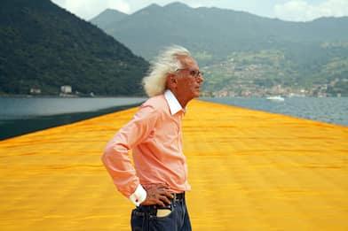 È morto l'artista Christo, aveva 84 anni