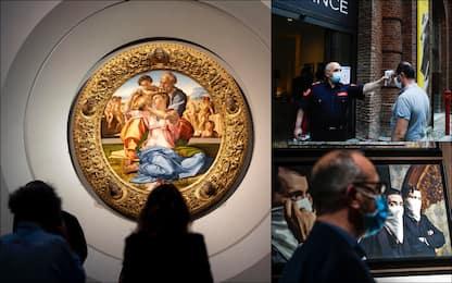 Riaprono mostre e musei in Italia: dagli Uffizi ai beni del Fai. FOTO