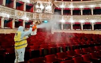 coronavirus teatro san carlo napoli