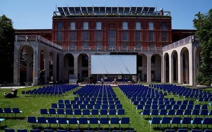Fase 3, il cinema all'aperto alla Triennale di Milano. FOTO