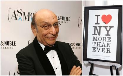 """Addio a Milton Glaser, morto il designer ideatore del logo """"I love NY"""""""