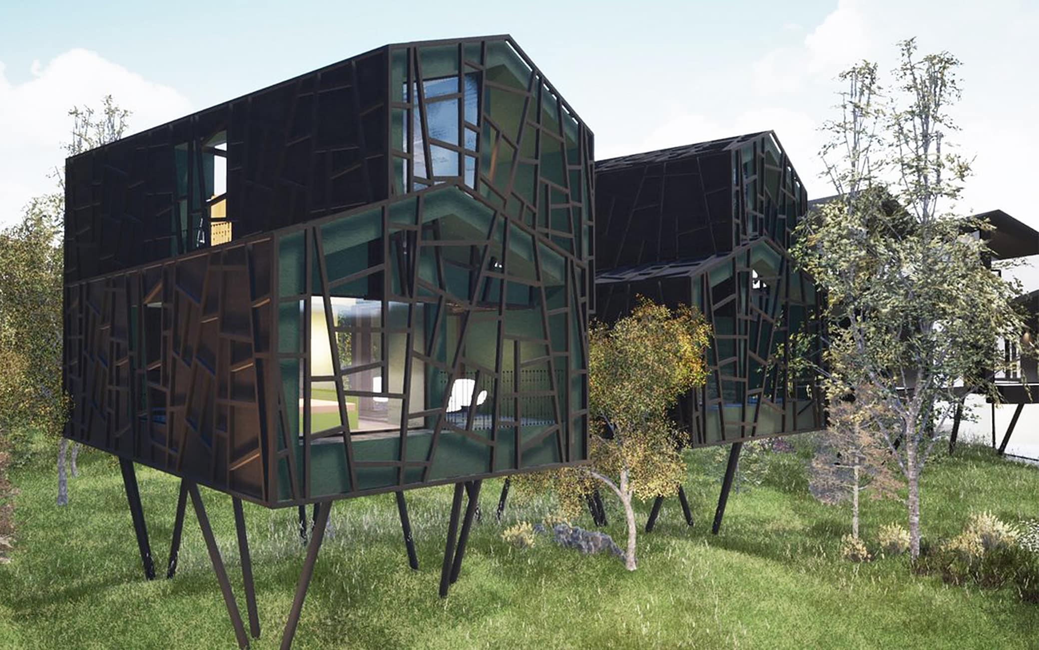 Le Green suites dell'Hotel Floris a Siusi allo Sciliar