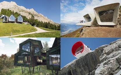 Rifugi di design e baite hi-tech, le strutture più all'avanguardia