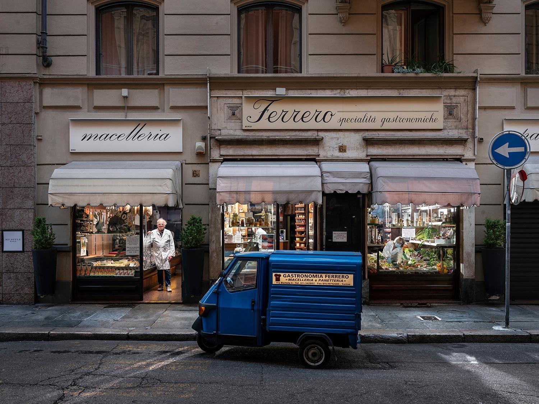 Ezio Ferrero - Gastronomia Ferrero, Via Bertola, Torino