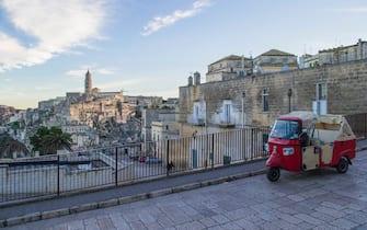 Il centro storico di Matera