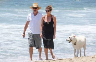 LOS ANGELES, CA - JULY 05: Tom Hanks and Rita Wilson are seen in Malibu on July 05, 2014 in Los Angeles, California.  (Photo by Bauer-Griffin/GC Images)