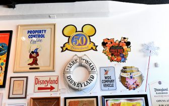 SHERMAN OAKS, CALIFORNIA - JULY 24: Auction items on display during the exclusive media preview of the Disneyland 65th anniversary auction at Van Eaton Galleries on July 24, 2020 in Sherman Oaks, California. (Photo by Kevin Winter/Getty Images)