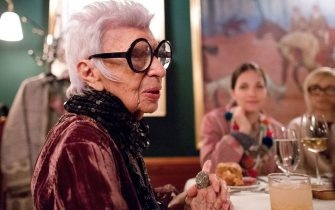 NEW YORK, NY - APRIL 11:  Iris Apfel attends the Iris Apfel Dinner previewing her HSN Collection at The Polo Bar on April 11, 2017 in New York City.  (Photo by Lars Niki/Getty Images for HSN)